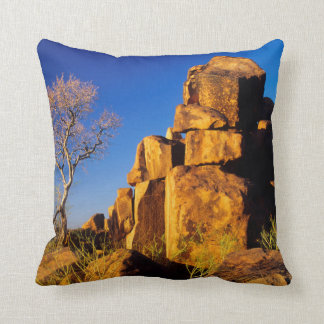 Rock Formation And Tree, Giant's Playground Cushion