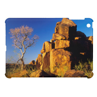 Rock Formation And Tree, Giant's Playground iPad Mini Case
