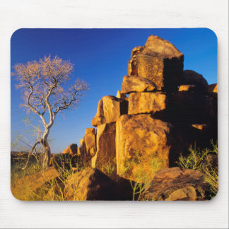 Rock Formation And Tree, Giant's Playground Mouse Mat