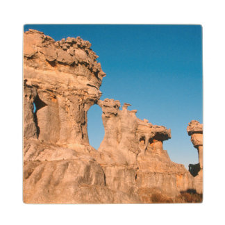 Rock Formation On A Landscape, Cederberg Wood Coaster