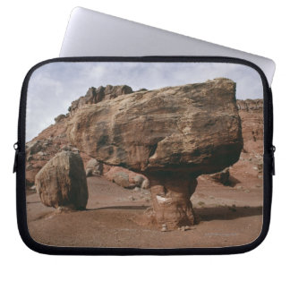 Rock formations in Marble Canyon, Utah Computer Sleeve