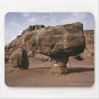 Rock formations in Marble Canyon, Utah Mouse Pad