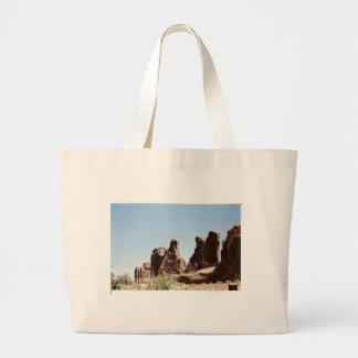 Rock Formations in Utah Jumbo Tote Bag
