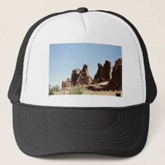 Rock Formations in Utah Trucker Hat