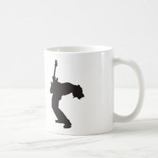 Rock God Guitar Coffee Mug
