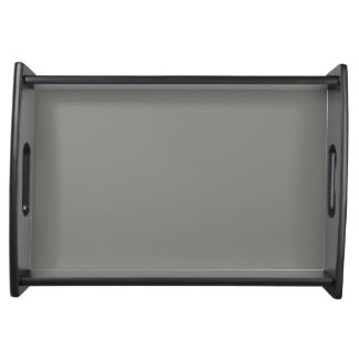 Rock Gray Personalized Trend Grey Color Background Food Tray