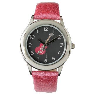 """Rock Guitar"" design wrist watches"