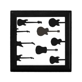 Rock Guitar Silhouettes Gift Box