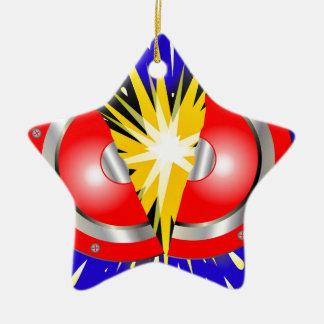 Rock Guitar Speaker Explosion Christmas Ornament