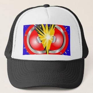 Rock Guitar Speaker Explosion Trucker Hat
