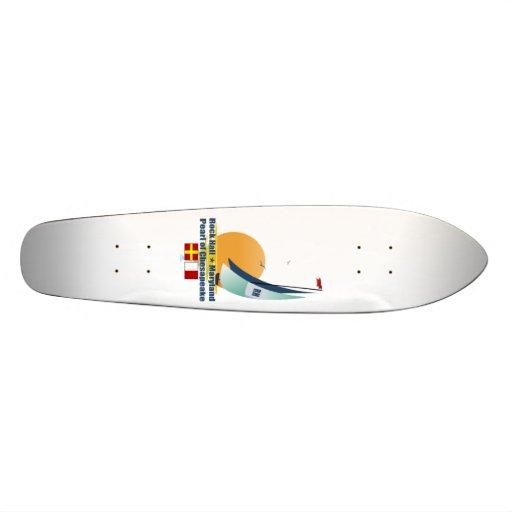 Rock Hall Maryland. Custom Skateboard