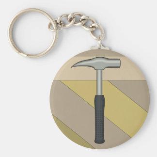 Rock Hammer Key Ring
