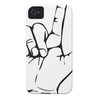 rock hand Case-Mate iPhone 4 cases