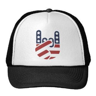 Rock Hand USA Mesh Hat