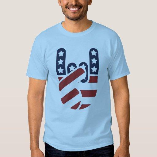 Rock Hand USA Tee Shirts