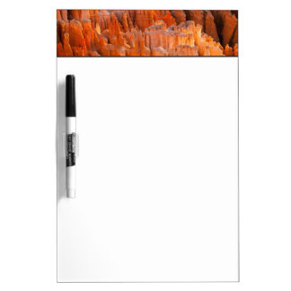 Rock Hoodoos in Morning Light Dry Erase Board