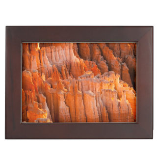 Rock Hoodoos in Morning Light Keepsake Box