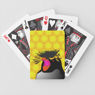 Rock Hopper Penguin Playing Cards