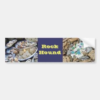Rock Hound Bumper Sticker Rocks Agates Fossils