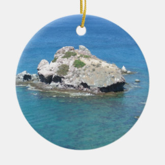 Rock in the Mediterranean Christmas Ornament