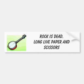 Rock is Dead Bumper Sticker