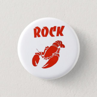 Rock Lobster 3 Cm Round Badge
