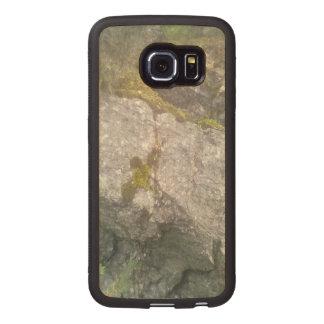 Rock Mountain Wood Phone Case