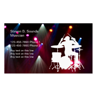 Rock Music Band Business Cards