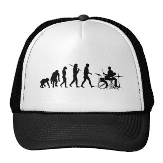 Rock Music Drummer and Jazz Dubstep Drums Cap