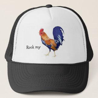 Rock my rooster trucker hat