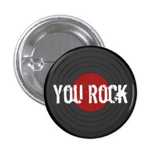 Rock N Roll Pinback Buttons