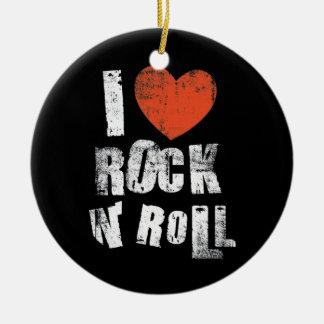 Rock N' Roll Christmas Ornament