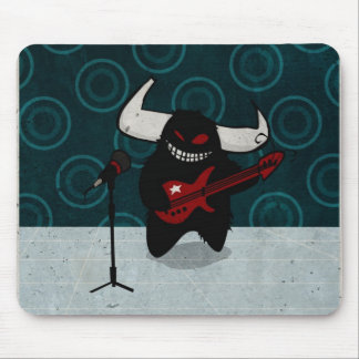 Rock 'n Roll demon Mouse Pad