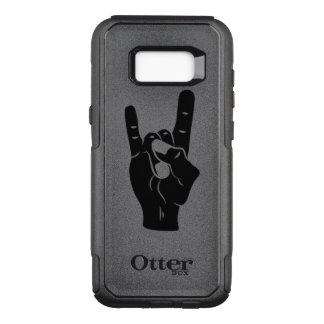Rock n Roll Devil Horns OtterBox Commuter Samsung Galaxy S8+ Case