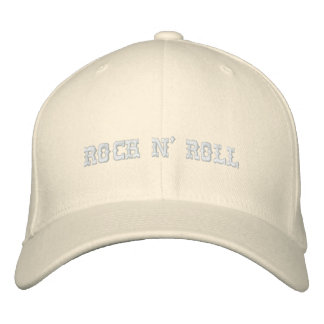 ROCK N' ROLL EMBROIDERED HAT