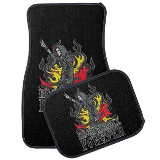 Rock N Roll Forever Grim Reaper Auto Floor Mat Set