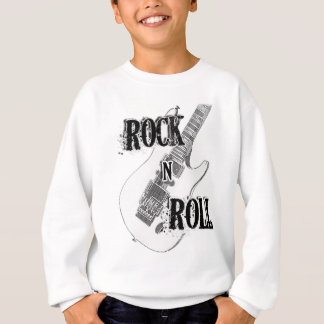 rock n roll guitar sweatshirt