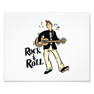 rock n roll guy playing guitar black png photograph
