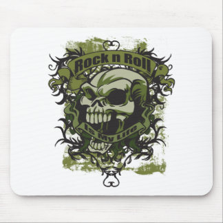 Rock n Roll is my Life Mouse Pad