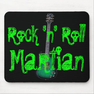 Rock 'n' Roll Martian Mouse Pad