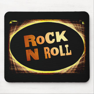 Rock N Roll Mouse Pad