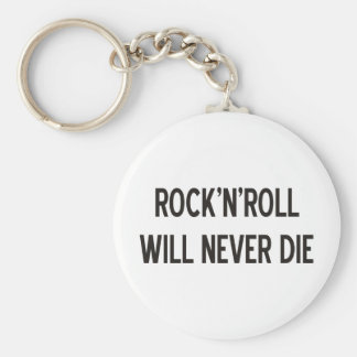 Rock 'n' Roll Products & Designs! Basic Round Button Key Ring