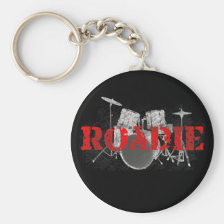 Rock 'n Roll Roadie Keychain