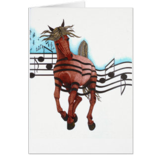 Rock'n Roll Rodeo Card