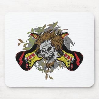 Rock n Roll Skull Mousepad