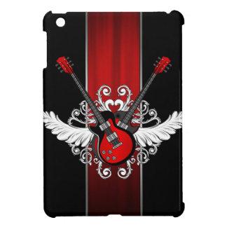 Rock n Roll Vintage Winged Guitars iPad Mini case