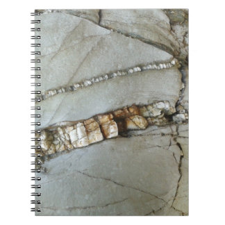 Rock natural textures notebook