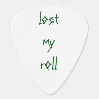 Rock not roll plectrum