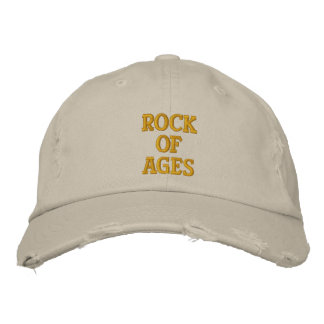 Rock of Ages Embroidered Hats