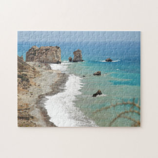 Rock Of Aphrodite, Cyprus Jigsaw Puzzle
